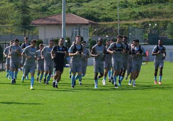 Trabzonspor, Beşiktaş maçının hazırlıklarını sürdürdü