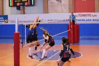 TVF Kadınlar 1. Lig: Nevşehir Belediyespor: 2 Mardin Büyükşehir Başakspor:3