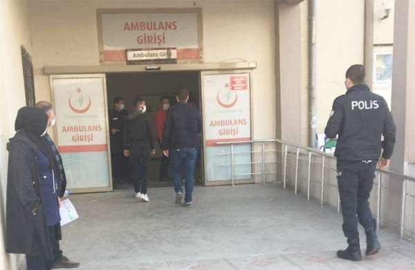 Covid hastası bıçaklı kavgada yaralandı