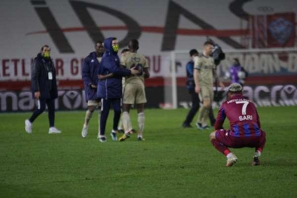 Süper Lig: Trabzonspor: 0- Fenerbahçe: 1 Maç sonucu