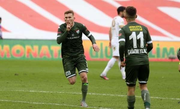 TFF 1 Lig: Bursaspor: 3 - Akhisarspor: 2