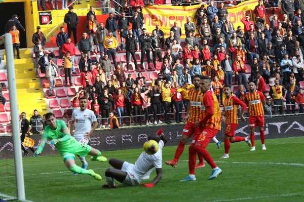 Kayserispor en fazla golü ikinci yarıda yedi
