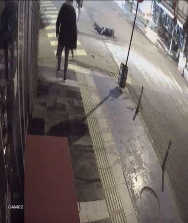 Silahlı saldırı saniye saniye güvenlik kamerasında: 1 ölü