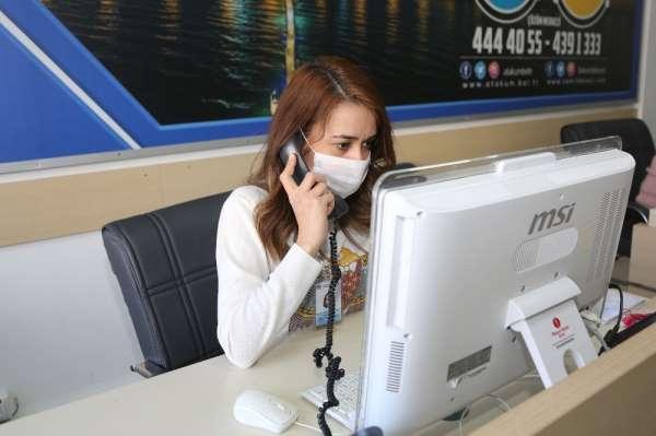 Atakum Belediyesi'nden 65 yaş üstü vatandaşlara destek telefonu