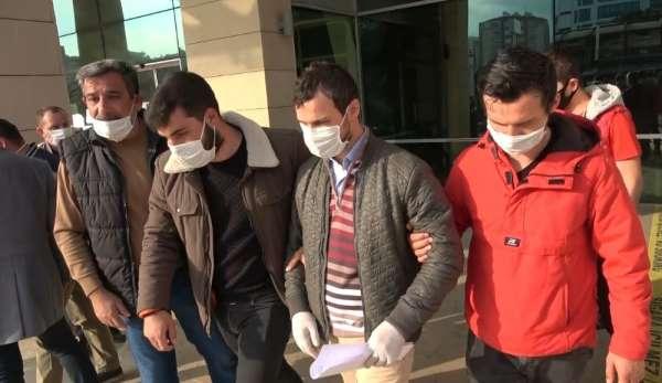 Doktora saldırı iddiasıyla adliyeye çıkartılan şahsa konut terk etmeme cezası