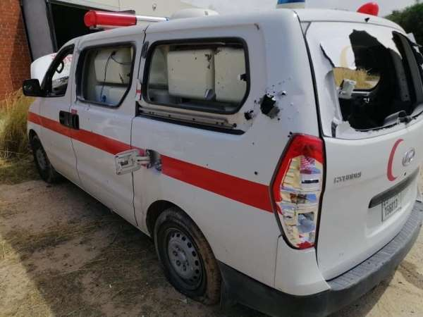 Hafter güçlerinden Trablusta sahra hastanesine roketli saldırı