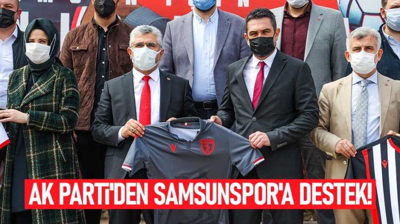 AK Partiden Samsunspora destek!