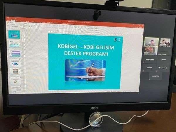 KOSGEB bilgilendirme toplantısı yapıldı