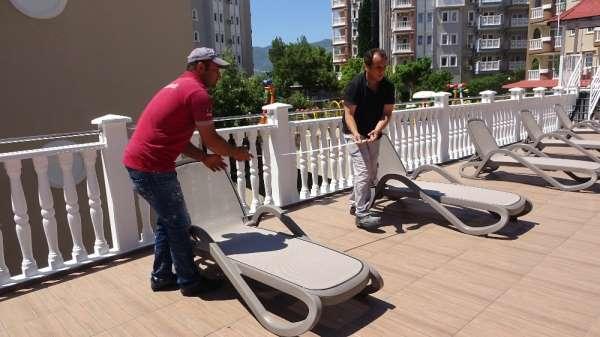Özel Antalya'da kapalı olan oteller 2020 sezonuna hazır