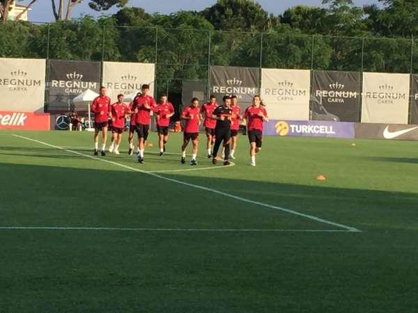 A Milli Takım, Gine maçının hazırlıklarına başladı