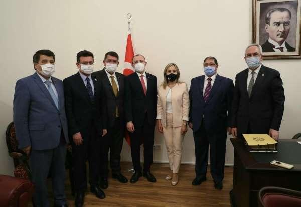 AESOB Başkanı Dere, Ankarada esnafın taleplerini görüştü