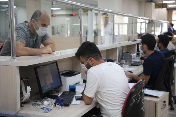Akdeniz Belediyesi vezneler bu hafta sonu açık
