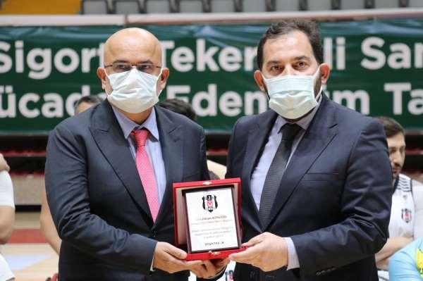 Beşiktaş Asbaşkanı Avşar: Tekerlekli sandalye basketbolda şampiyon olacağız