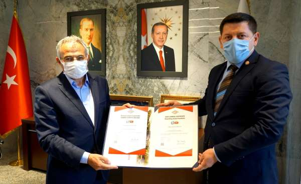 Bölgede ilk güvenli kampüs belgesi Gaziantep Üniversitesine