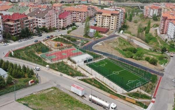 Çankayaya kazandırılan Karapınar Spor Parkı 2 Haziranda açılacak