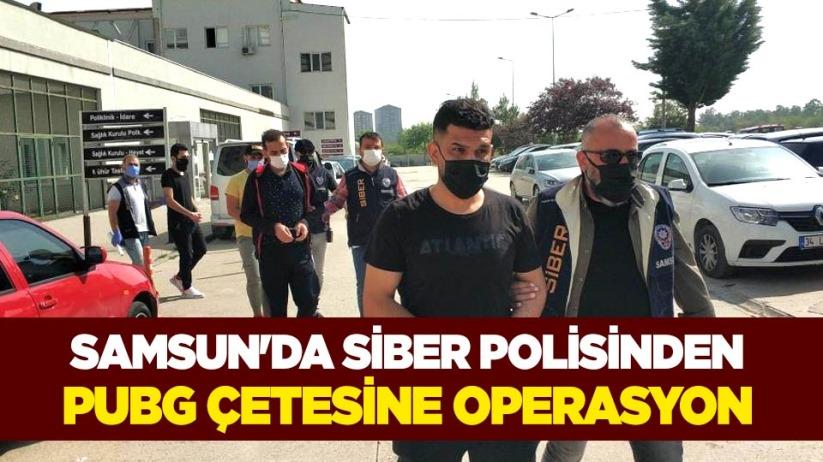 Samsunda siber polisinden PUBG çetesine operasyon