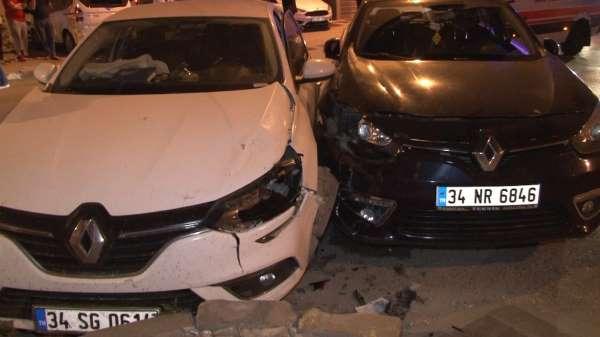 Esenyurtta trafik kazası: 2 yaralı