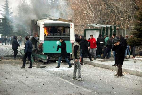 Kayseride 15 askerin şehit olduğu patlamanın yargılamasına devam edildi