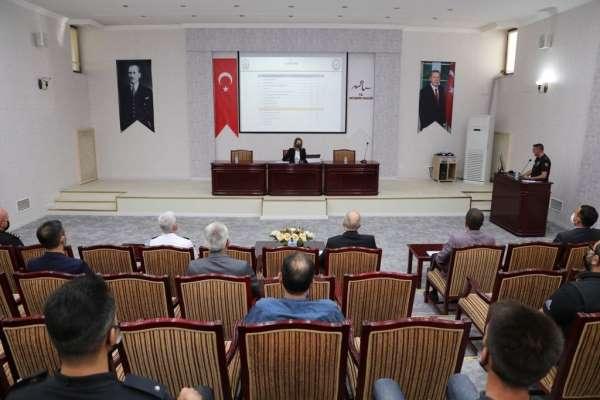 Nevşehirde İl Spor Güvenlik Kurulu toplantısı yapıldı