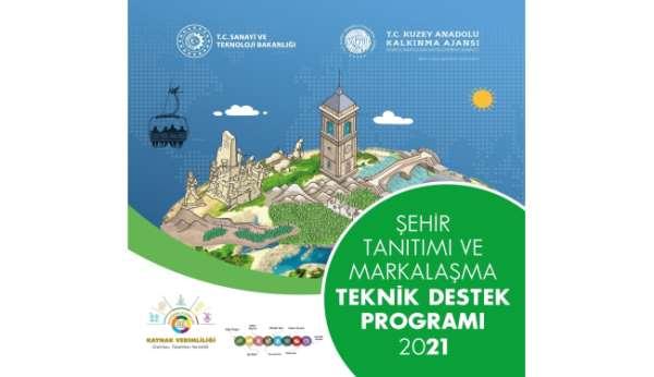 Şehir tanıtımı ve markalaşmasına 500 bin TL destek
