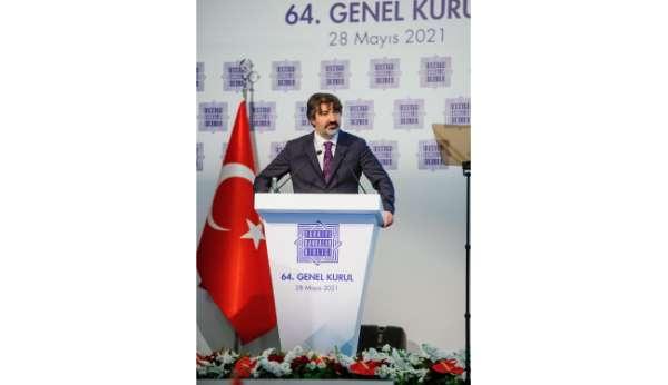 TBB Yönetim Kurulu Başkanı Alpaslan Çakar: Mart 2020-2021 bilanço büyüklüğü yüzde 33 oranında artarak 6,5 tri