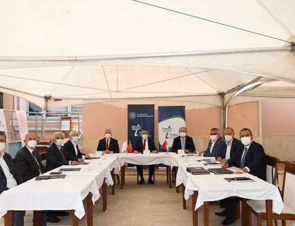 TRAKYAKA Yönetim Kurulu Kırklarelinde toplandı