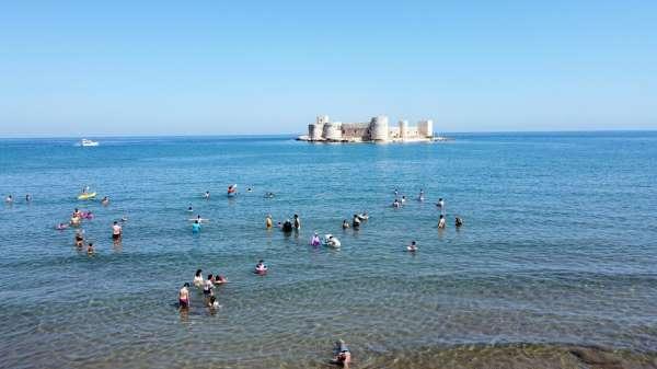 UNESCO tescilli Kızkalesinde turizm hareketliliği