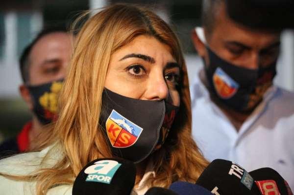 Berna Gözbaşı: 'Ligde kalmaya kararlıyız'