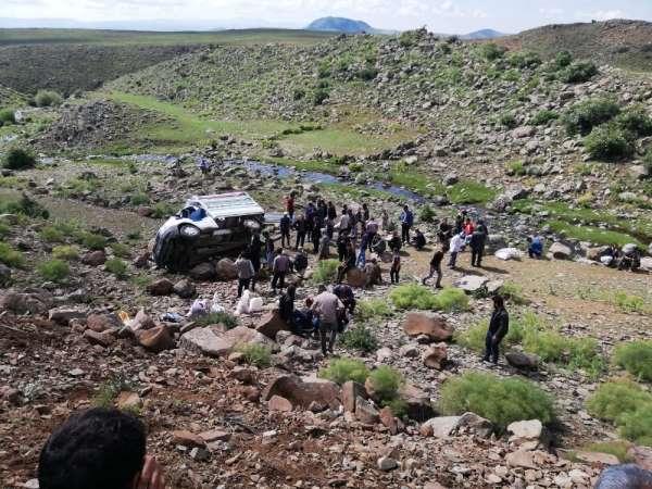 Erzurum'da trafik kazası: 3 yaralı