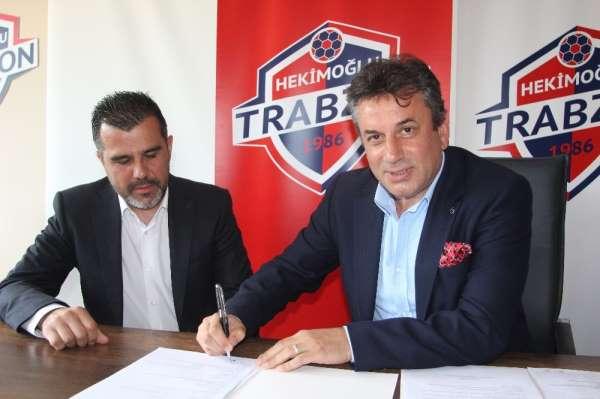 Hekimoğlu Trabzon FK, Mustafa Alper Avcı'nın sözleşmesini iki yıl daha uzattı