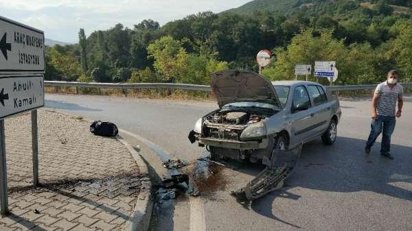 Navigasyon kazası: 2 yaralı