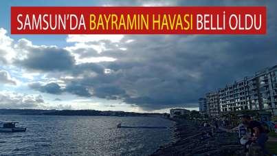 Samsun'da bayramın 'havası' belli oldu