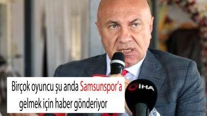 Samsunspor Başkanı Yıldırım'dan önemli açıklamalar