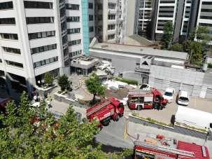 Şişli'de patlamanın yaşandığı alan havadan görüntülendi