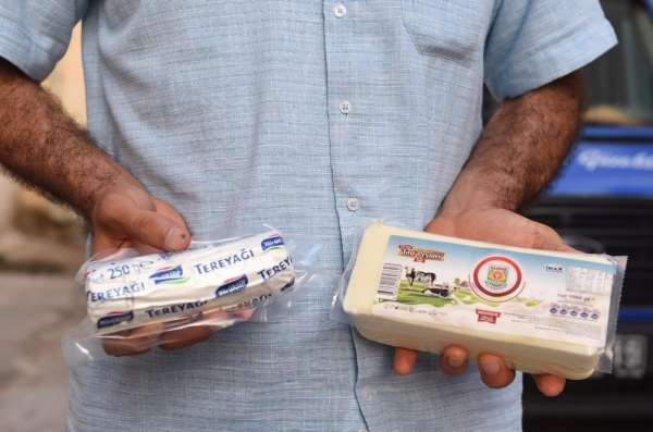 Tarsus Belediyesinden halka ücretsiz tereyağ ve peynir