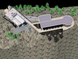 Türkiye'nin en geniş cam terası Boyabat'a yapılıyor