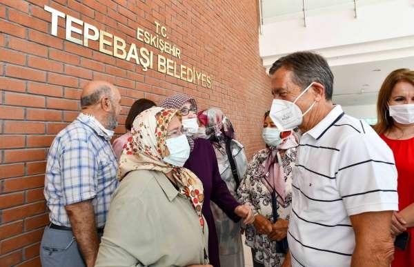 Başkan Ataç şehit aileleri ve gaziler bir araya geldi