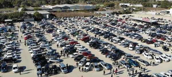 Denizlide otomobil sayısı 436 bin 144e ulaştı