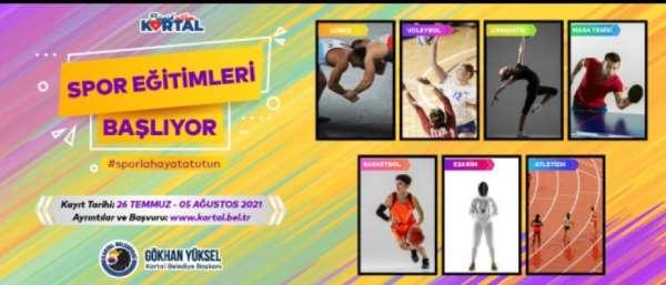 Kartal Belediyesinin ücretsiz yaz spor eğitimleri başlıyor