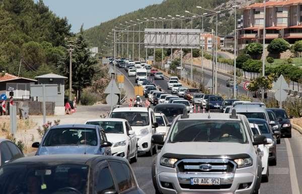 Muğlada bir yılda araç sayısı yüzde 5,2 arttı