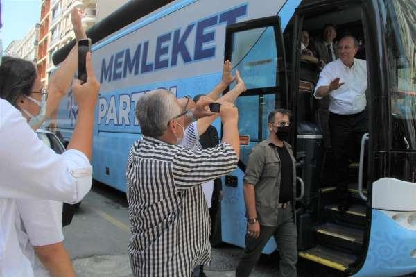 Muharrem İnceden CHP seçmenine çağrı: Kerhen CHPye oy vereceğine gel Memleket Partisine oy ver