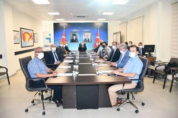Tekirdağda il istihdam ve mesleki eğitim kurulu toplantısı yapıldı