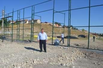 Beylikova'ya 2 milyon 650 bin lira maliyetle yeni spor tesisi