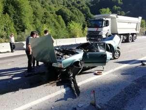 Bir aile yok oluyordu, kazadan inanılmaz kurtuluş