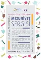 Trakya Üniversitesi Güzel Sanatlar Fakültesi mezuniyet sergisi sanal ortamda