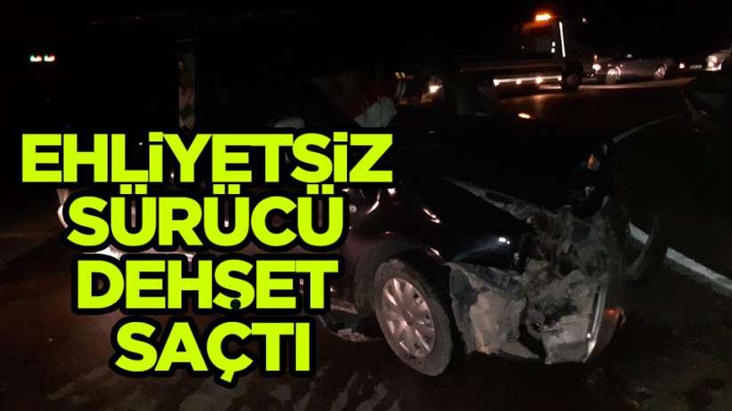 Samsun Sinop yolunda trafik kazası: 1 yaralı