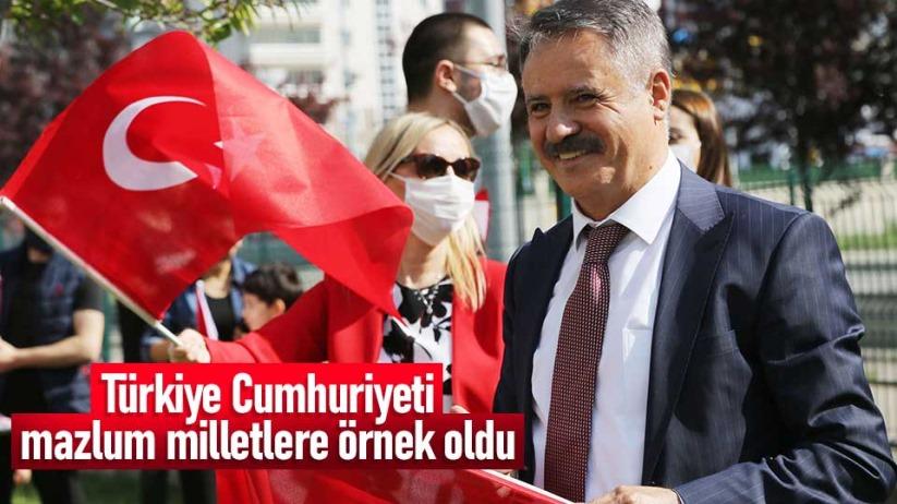 Başkan Deveciden 29 Ekim Cumhuriyet Bayramı mesajı