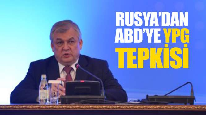 Rusya'dan ABD'ye YPG Tepkisi!