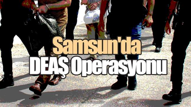 Samsun Haberleri: Samsun'da DEAŞ Operasyonu