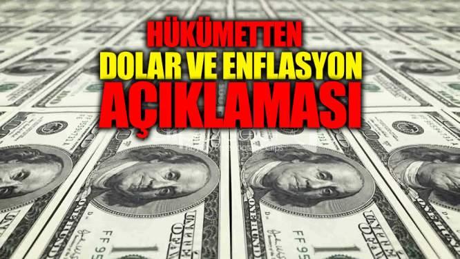 Bakanlıktan Dolar Ve Enflasyon Açıklaması